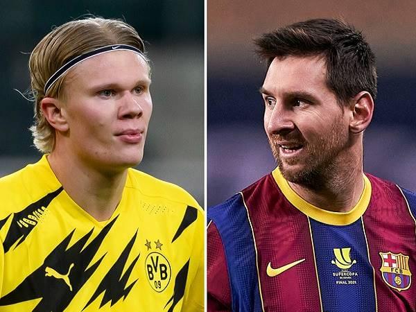 Chuyển nhượng 19/2: Man City tính gây sốc với Messi và Haaland