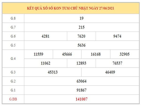 Dự đoán XSKT ngày 4/7/2021 dựa trên kết quả kì trước