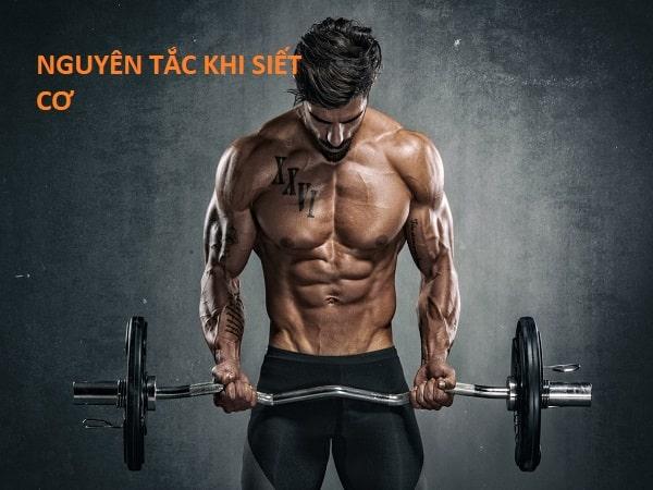 Nguyên tắc khi siết cơ để hiệu quả bạn nhất định phải biết
